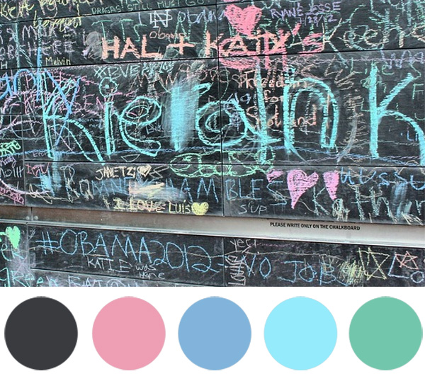 chalkboard colors