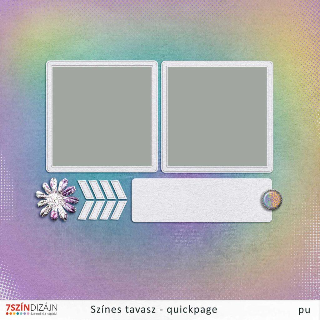 Színes tavasz – quickpage